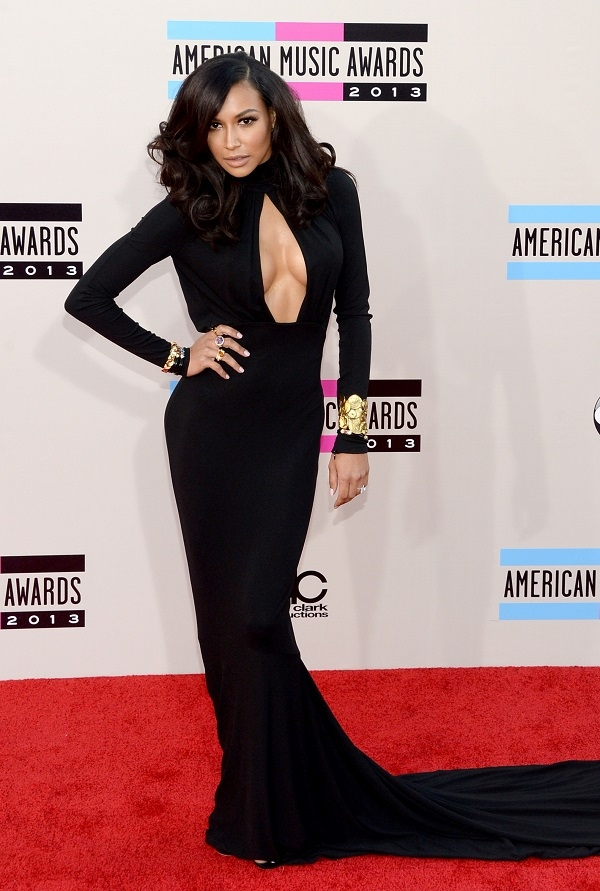naya rivera Fashion Police: American Music Awards 2013.