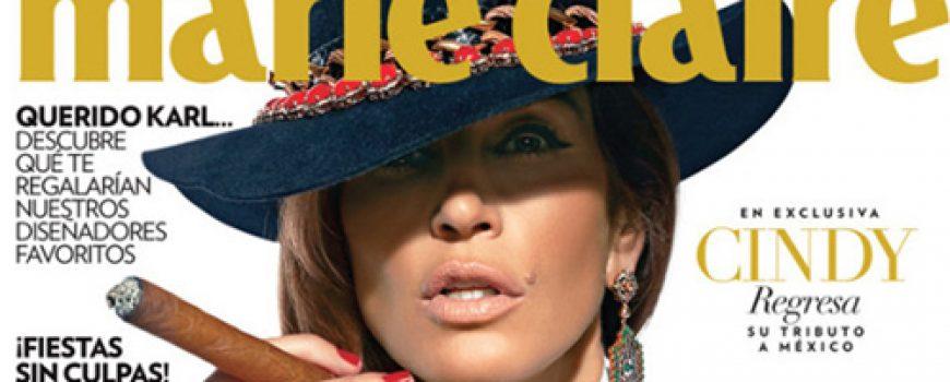 "Cindy Crawford na naslovnici magazina ""Marie Claire Mexico"""