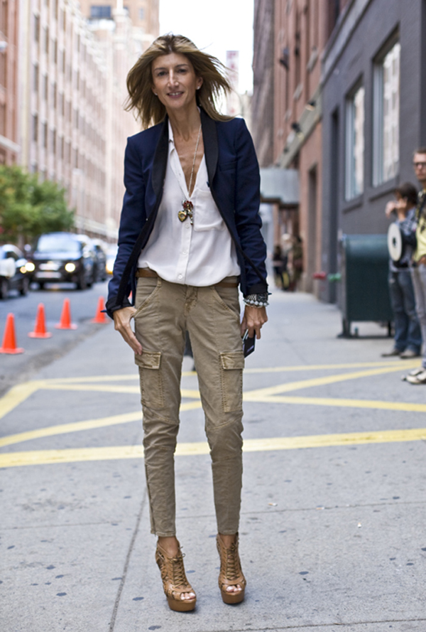 sarah rutson lane crawford 101510 Street Style: Sarah Rutson