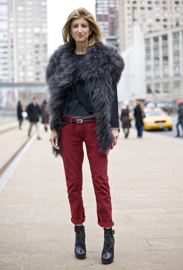 sarah rutson street style 022811 Street Style: Sarah Rutson