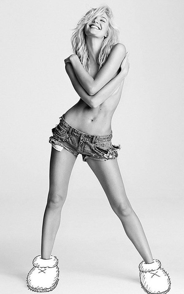 swane 112213  2 Candice Swanepoel u toplesu za i D Magazine