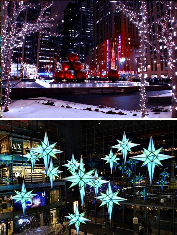 01 Crvene kugle Svetlosni obilazak1 Lokacije u Njujorku koje morate posetiti tokom božićnih i novogodišnjih praznika