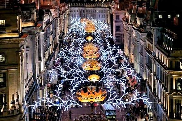 03 Ridzen strit Lokacije u Londonu koje morate posetiti tokom božićnih i novogodišnjih praznika