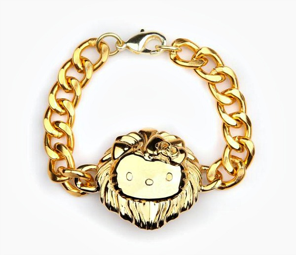 05 Hello Kitty lav narukvica Hello Kitty kolekcija nakita sa potpisom Onch Movement