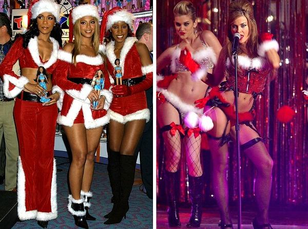 07 Destinis Cajld Karmen Kostim Deda Mraz Poznate ličnosti u zavodljivim kostimima Deda Mraza