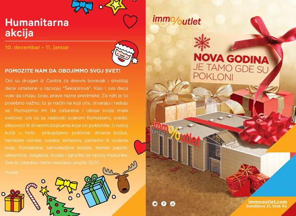 2i Immo Outlet Centar: Nova godina je tamo gde su pokloni