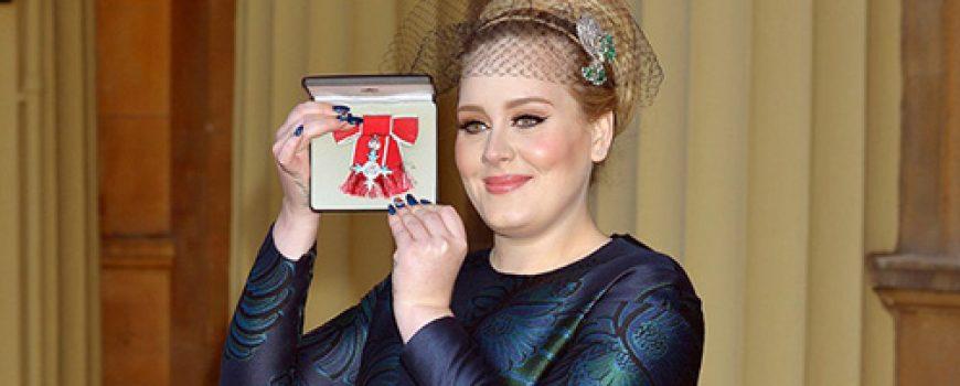 Adele dobila orden za doprinos muzici