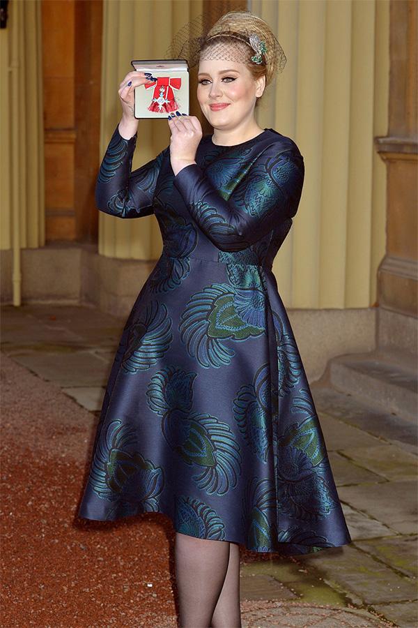 Adele Adele dobila orden za doprinos muzici