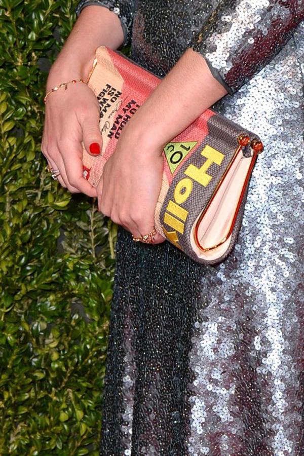 Alice Dellal Clutch British Fashion Awards 2013: Beauty i aksesoari
