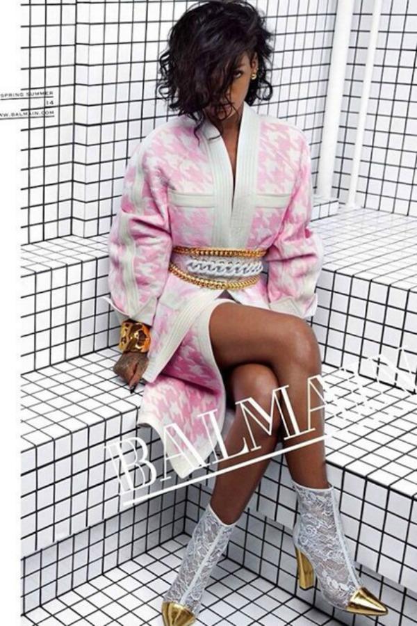 Balmain Rihanna SL1 Rihanna, zvezda nove Balmain kampanje