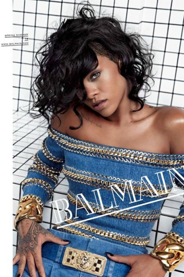 Balmain Rihanna SL2 Rihanna, zvezda nove Balmain kampanje