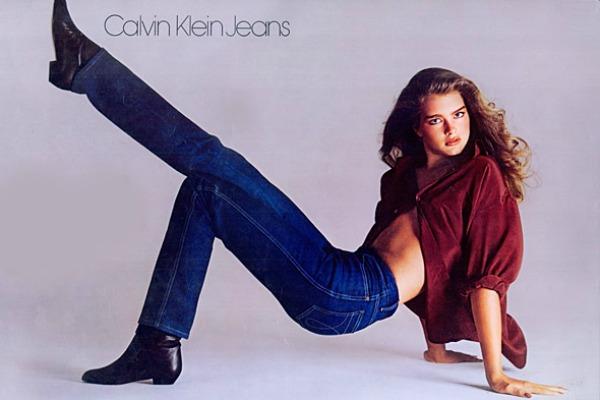 Brooke Shields Calvin Klein Jeans Deset najpoznatijih modnih umetnika sveta