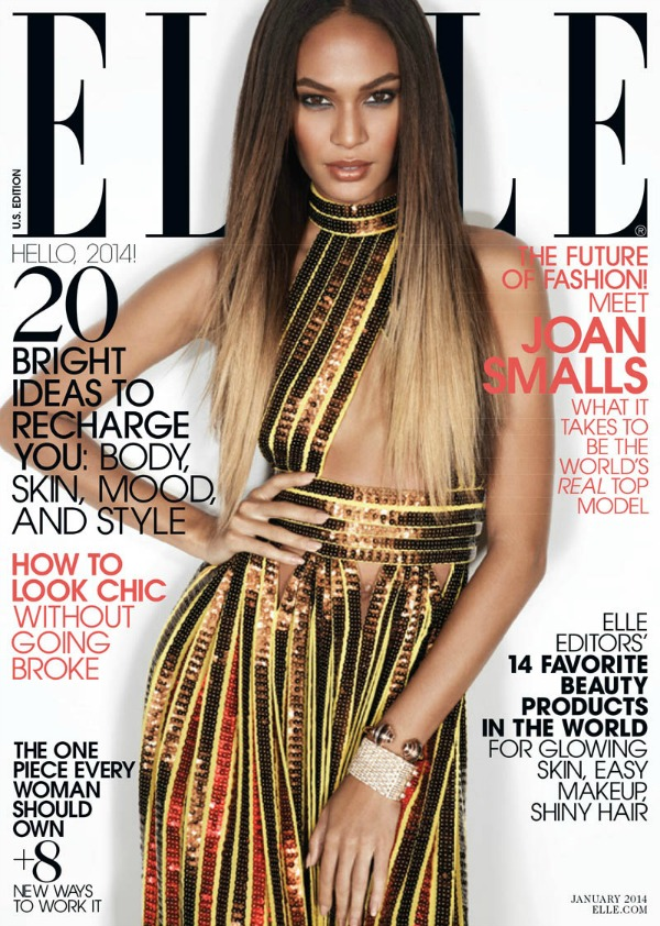 "Džoan izgleda neverovatno u kreaciji brenda Givenchy Modni zalogaj: Joan Smalls za ""Elle US"