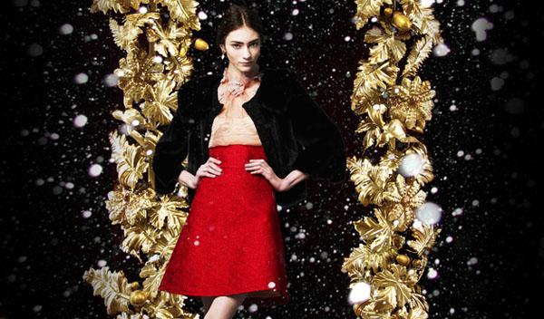 Dolce   Gabbana holiday 2013 campaign content Dolce & Gabbana: Zlatni praznici