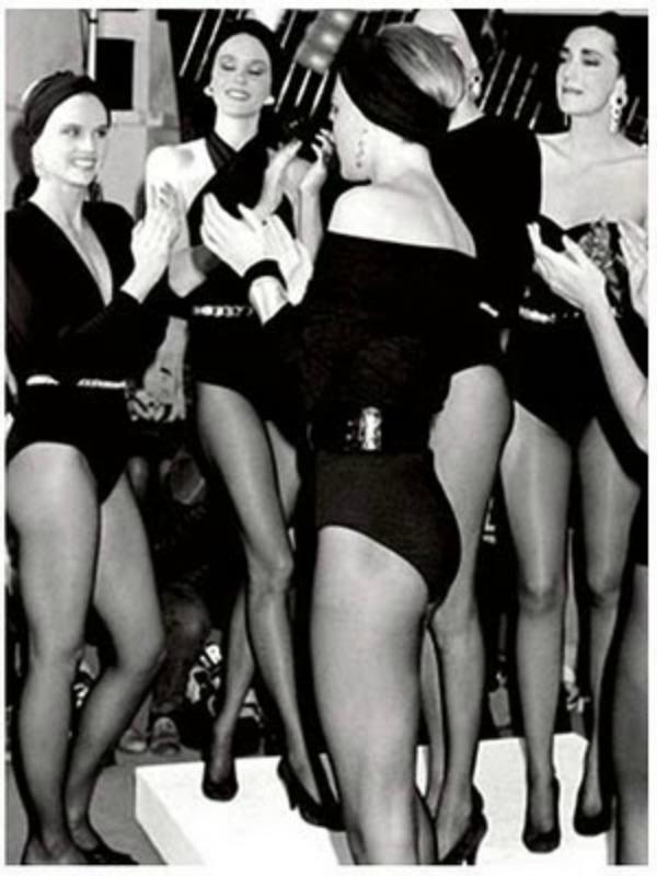 Donna Karan 1985 modna revija Deset najpoznatijih modnih umetnika sveta