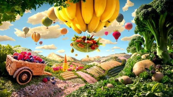 Farma Brokoli kralj, Carl Warner