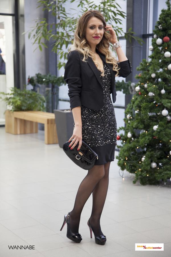 IMG 1439 Modni predlozi iz Immo Outlet centra: Šljokice i mala crna haljina