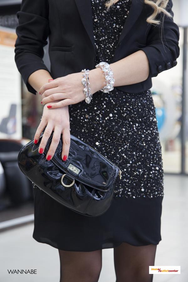 IMG 1443 Modni predlozi iz Immo Outlet centra: Šljokice i mala crna haljina