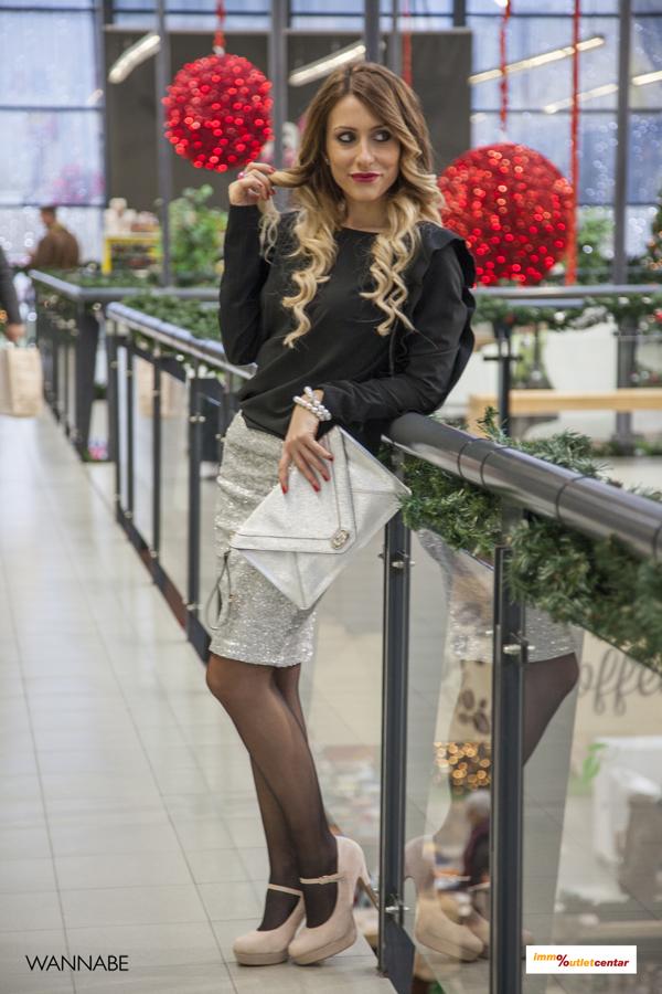 IMG 1576 Modni predlozi iz Immo Outlet centra: Srebrno i glamurozno