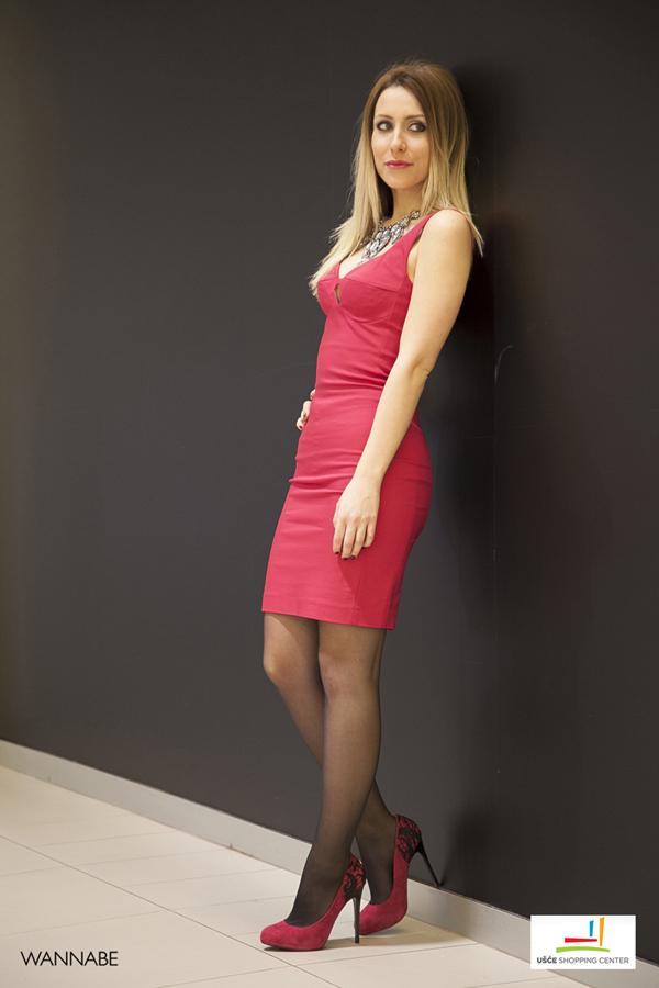 IMG 2768 Modni predlozi iz SC UŠĆE: Mala ciklama haljina