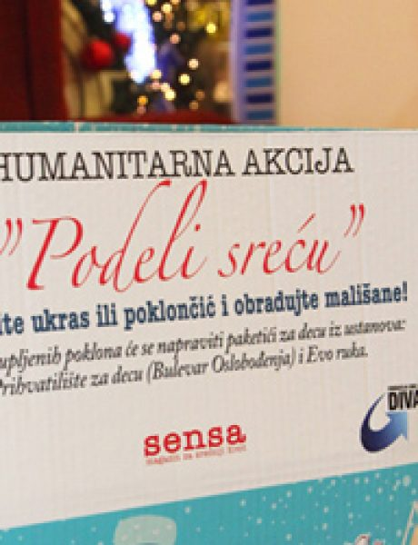 "Humanitarna akcija ""Podeli sreću"""