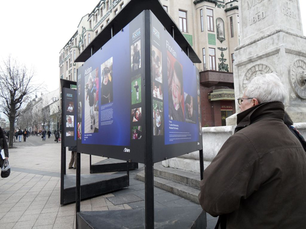 Izlozba fotografija Pozitivna izlozenost Izložba Hanter u fokusu, projekat Positive Exposure