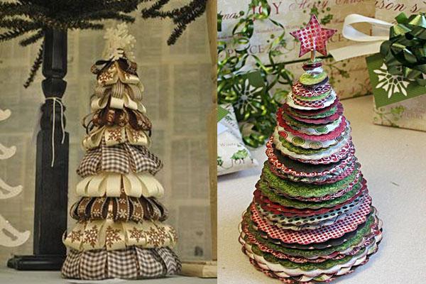 Jelka od tkanine Novogodišnje drvce u malom prostoru