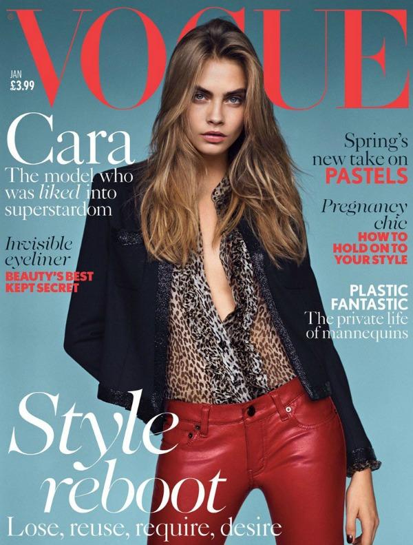 """Kara nas podseća zašto je jedno od najtraženijih lica na modnoj sceni Modni zalogaj: Cara Delevingne za """"Vogue UK"""""""