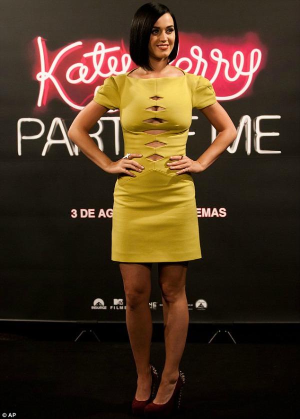 Katy Perry 7 Trend sa crvenog tepiha: Žute haljine