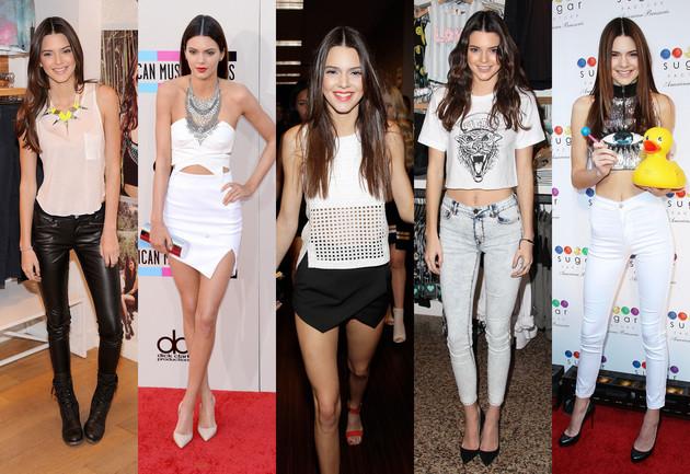 Kendall Jenner Fashion Style content Pet modnih ikona mlađih od dvadeset godina