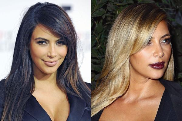 Kim Kardashian Najveće transformacije poznatih dama u 2013. godini