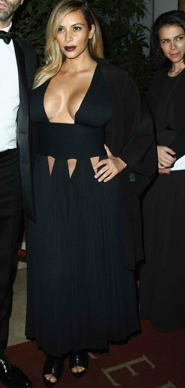 Kim Najskandaloznije haljine u 2013.