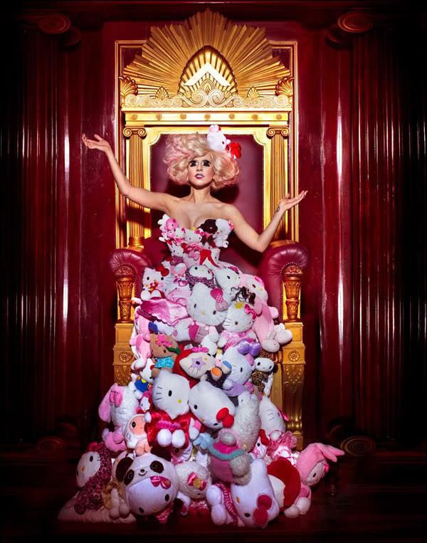 LadyGaga HelloKitty2 Umetnost koju kreira Lady Gaga
