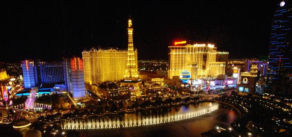 Las Vegas Fountain Strip Idealno putovanje prema horoskopskom znaku (3. deo)