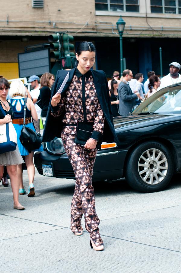 Lily 10 odevnih kombinacija: Lily Kwong