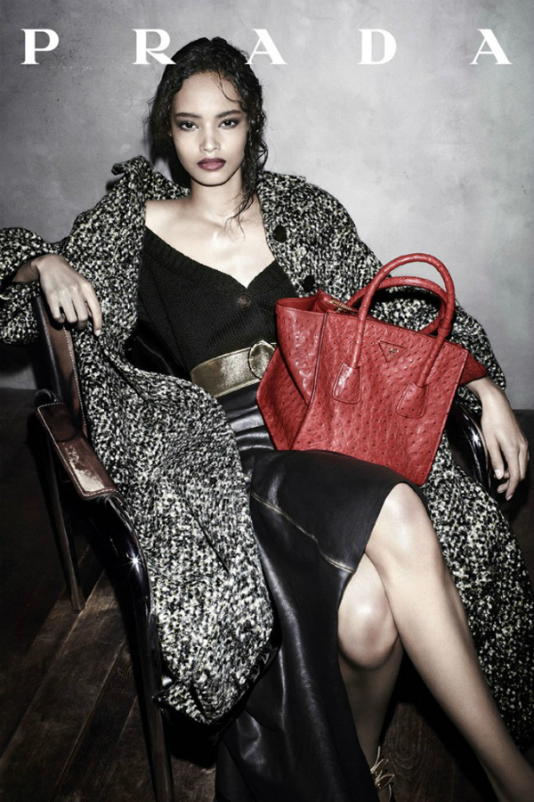Malaika i njen proboj radeci za Pradu Najtraženiji ženski modeli za 2013.