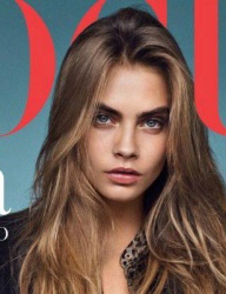 "Modni zalogaj: Cara Delevingne za ""Vogue UK"""
