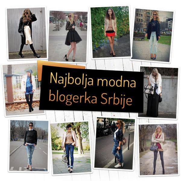 Najbolja modna blogerka Najbolja modna blogerka Srbije