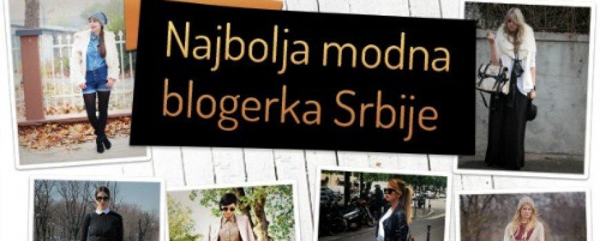 Najbolja modna blogerka Srbije