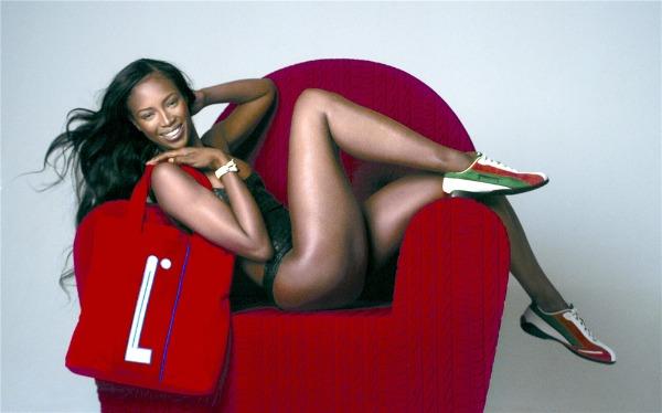 Naomi Campbell 2 Sva lica Pirelli kalendara