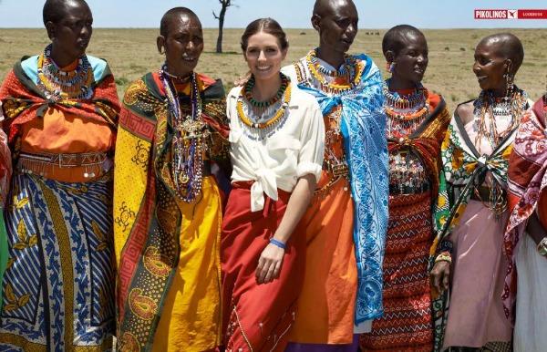 Olivia Palermo SL1 Humana Olivia Palermo posetila Keniju