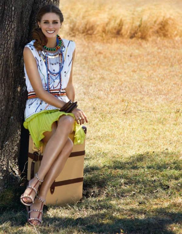 Olivia Palermo SL3 Humana Olivia Palermo posetila Keniju