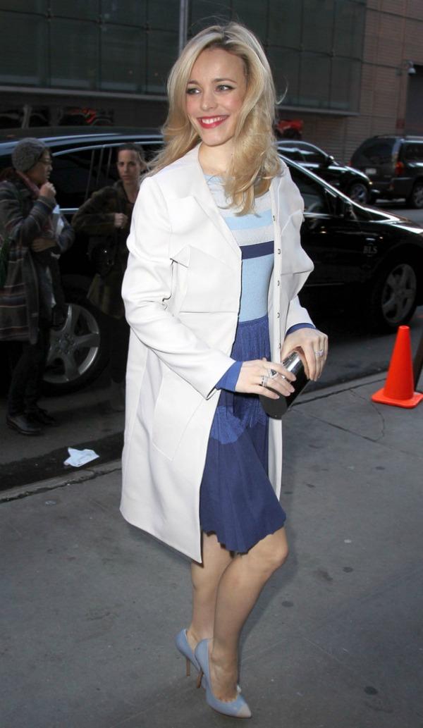 Rachel McAdams 4 10 odevnih kombinacija: Rachel McAdams