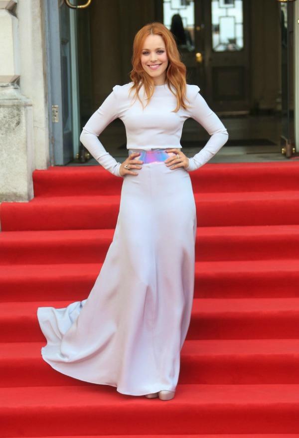 Rachel McAdams 9 10 odevnih kombinacija: Rachel McAdams