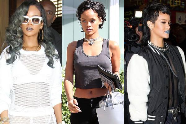 Rihanna2 Najveće transformacije poznatih dama u 2013. godini
