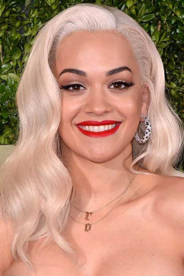 Rita Ora Beauty British Fashion Awards 2013: Beauty i aksesoari