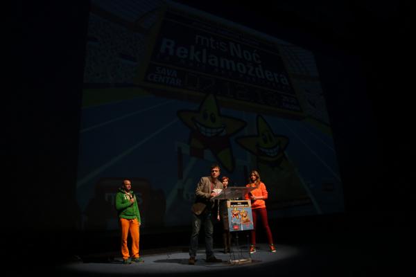 Sergej Trifunovic Održana 14. mt:s Noć Reklamoždera