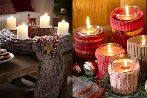 Strikani svecnaci Praznični ambijent: Najlepše dekoracije sa svećama