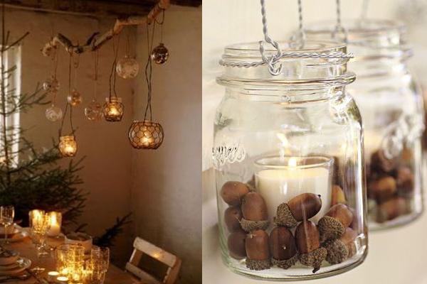 Svece koje se vise Praznični ambijent: Najlepše dekoracije sa svećama