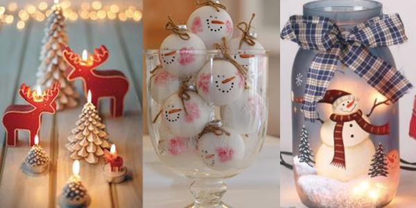 Svece u obliku irvasa i sneska Praznični ambijent: Najlepše dekoracije sa svećama